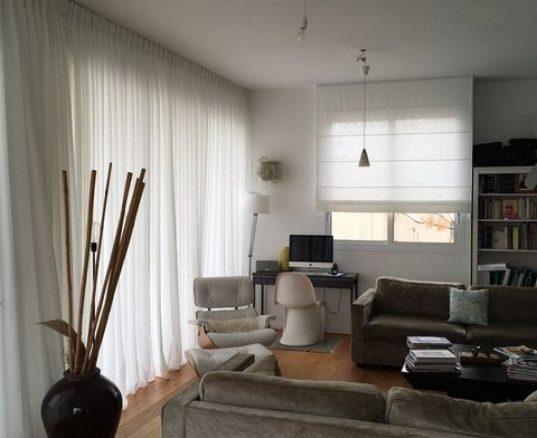 עיצוב וילונות בהתאמה אישית לדירה