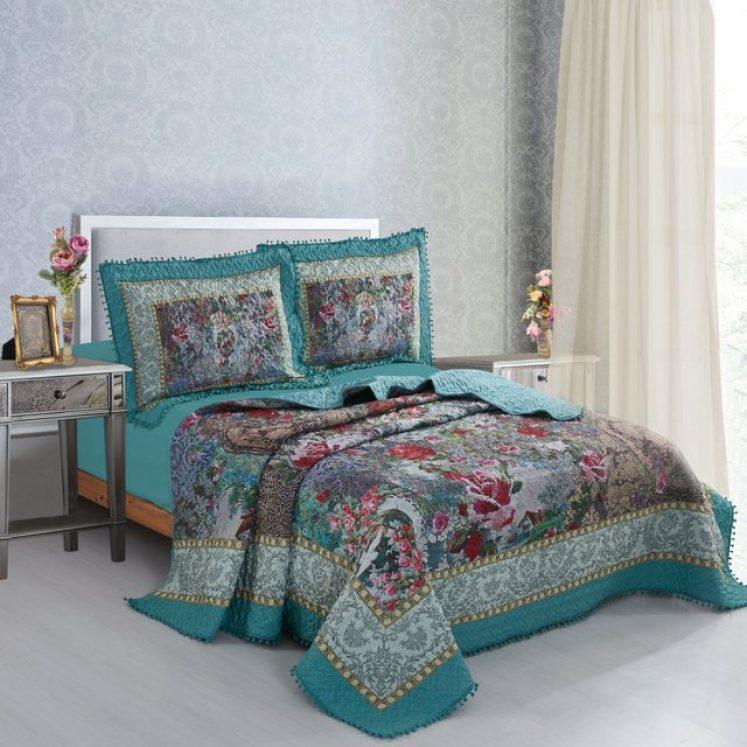 כיסוי מיטה מיכל נגרין דגם הלנה
