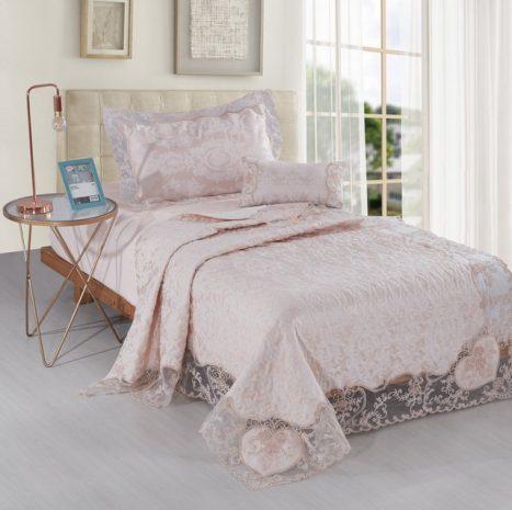 כיסוי מיטה דגם אסיה